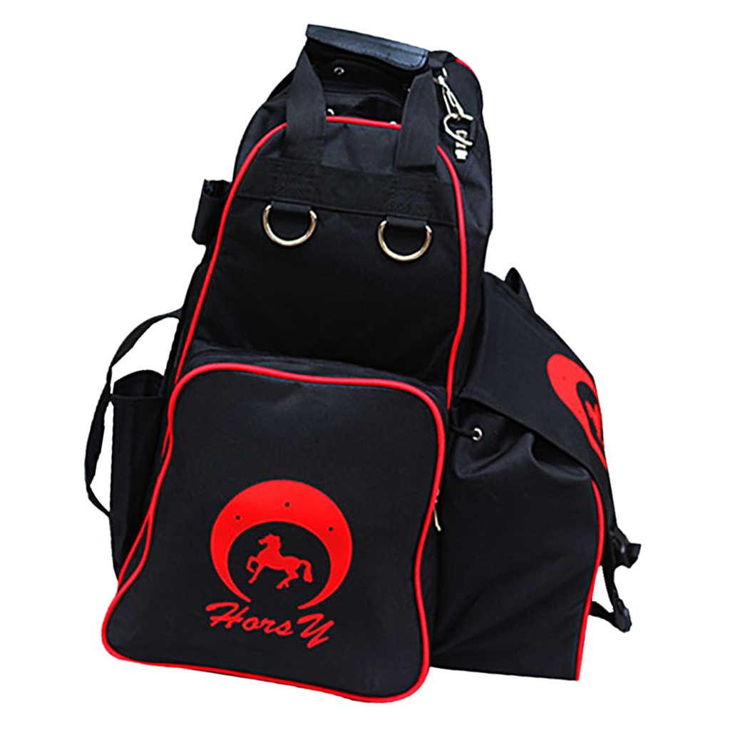 Oxford at binme çizmeleri ve kask taşıma çantası su geçirmez binicilik sırt çantası omuz çantası