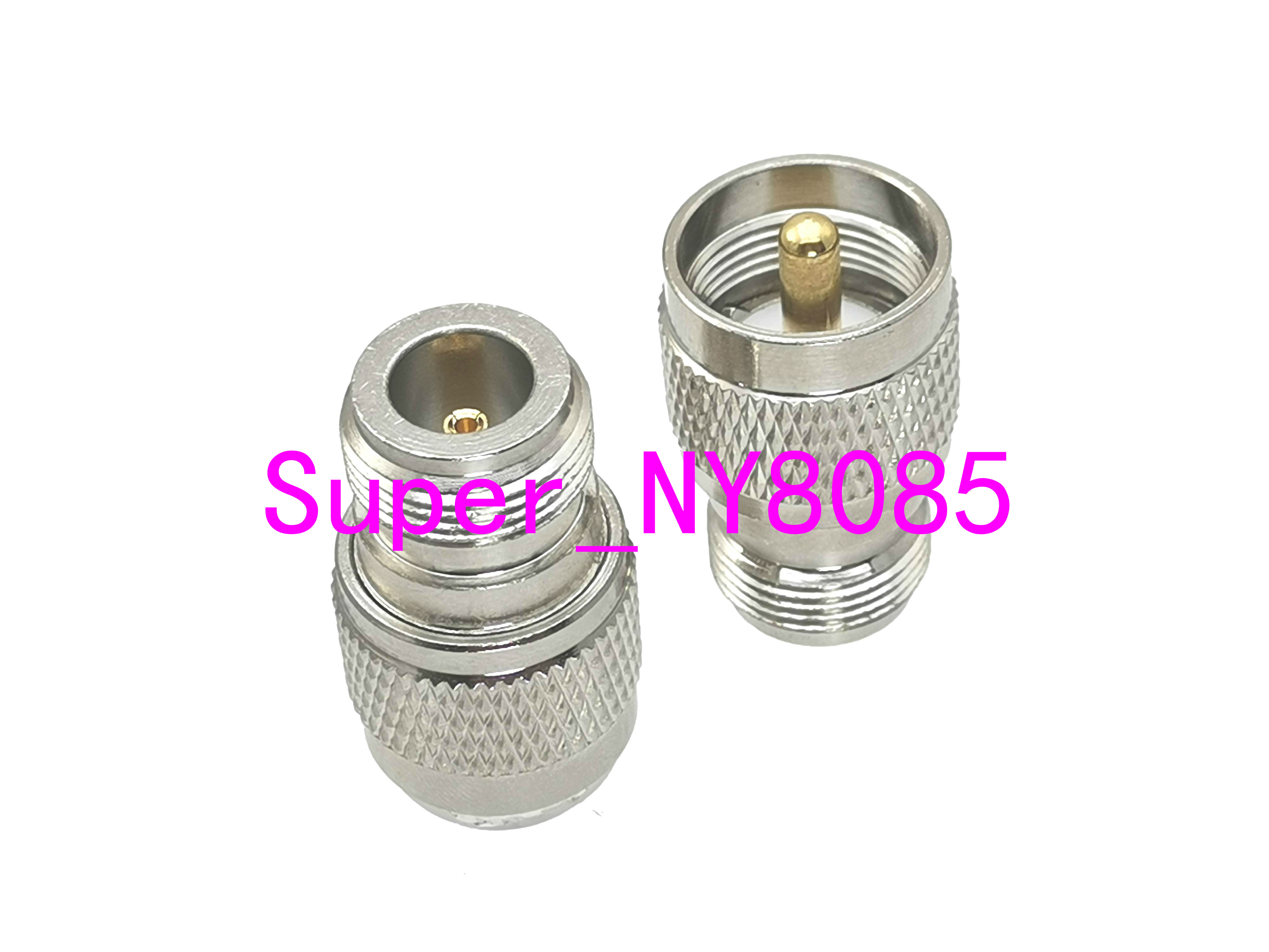 1pce UHF PL259 Male Plug To N Female Jack RF Adapter Connector