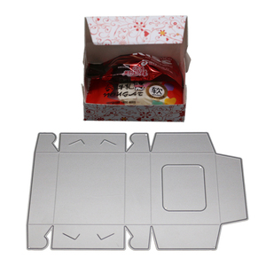 Candy Box Bag Metal Cutting Dies Stamps for Scrapbooking Embossing Stencils DIY Decorative Cards Making Fustelle Metalliche