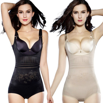 Seamless Body Shaper Open Bust Shapewear Firm Control Bodysuit for women Royal  Waist Corset Girdle Push Up Vest Tummy Corset 1
