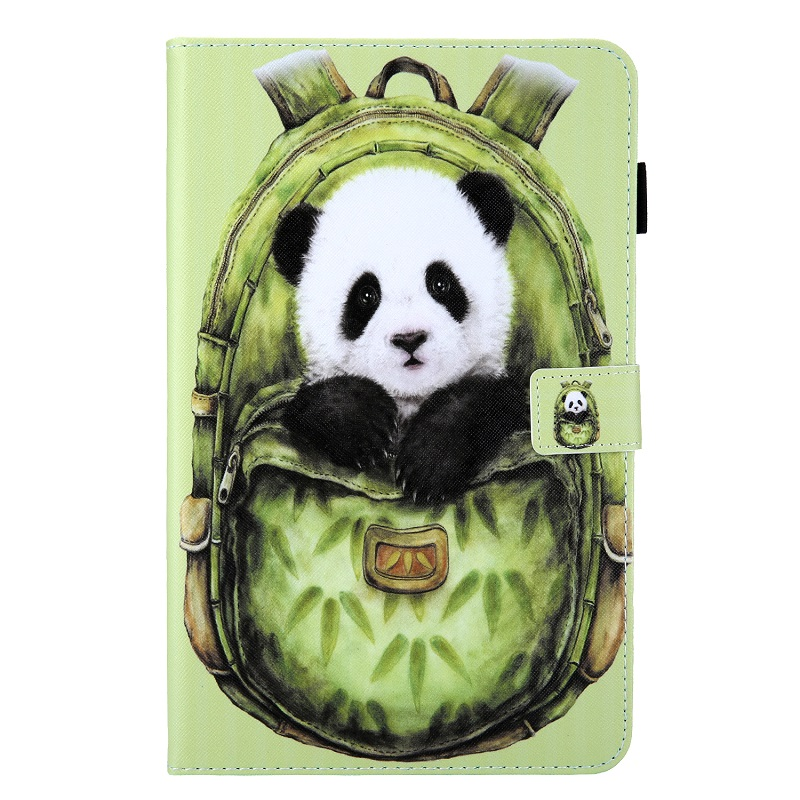 Green Panda Pink Case for New iPad 10 2 2019 Tablet Funda Magnetic Stand Smart Cover for iPad 7th