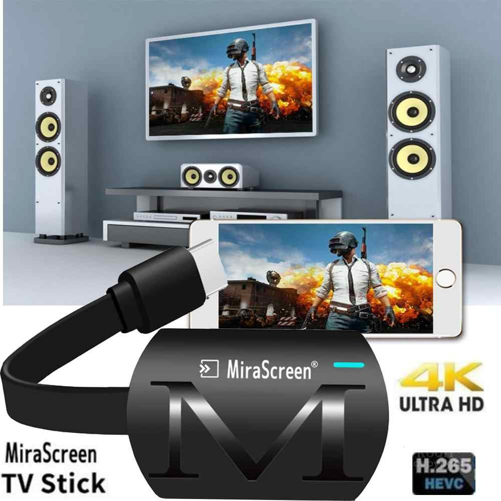 MiraScreen G4 Plus Android TV Stick ไร้สาย HDMI WiFi Display Dongle 2.4GHz 1080P Chormecast Miracast AirPlay Media Streamers