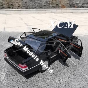 Image 4 - Döküm Görev Model Araba Modeli için S600 (Siyah) 1:18 + KÜÇÜK HEDIYE!!!!
