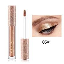 Nova sombra de olho líquido brilho brilhante sombra cosméticos maquiagem ferramenta sci88
