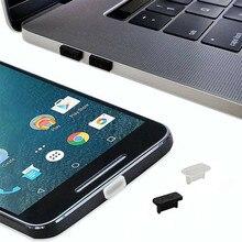 1 шт. подходит для type-C анти-пылезащитный Разъем зарядка защита порта крышка sim-карты Pin для samsung huawei Xiaomi OnePlus аксессуары