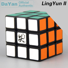 цены DaYan LingYun II 3x3x3 Magic Cube 3x3 Brain Teasers Professional Speed Twist Puzzle Antistress Educational Toys For Children