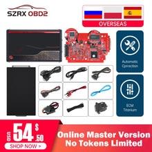 Kess v2.53 v5.017 em linha mestre completo chip kits bdm quadro ktag v2.25 v7.020 ecu programador ecm titânio chip tunning ferramentas