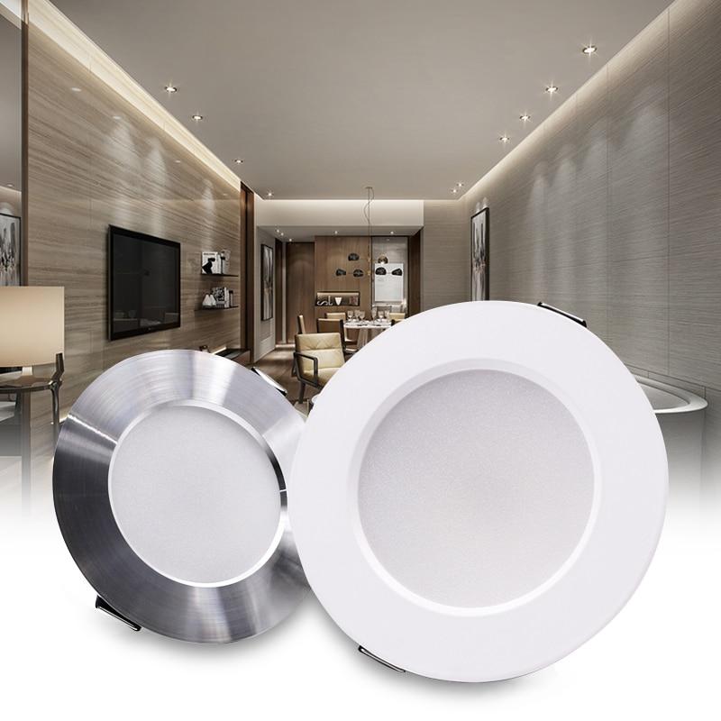 KARWEN LED Downlight 5W 7W 9W 12W 15W Recessed Round LED Ceiling Lamp AC 220V 230V 240V Warm White Cold White Indoor Lighting