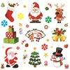 Christmas Decoration Supplies Cartoon Decoration PVC Window non-adhesive Electrostatic Stickers Christmas Electrostatic Stickers