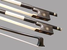 25pcs/lot 4/4 Carbon Fiber Bow Black Carbon Fiber Violin Bow Stunning Violin Bow цена и фото