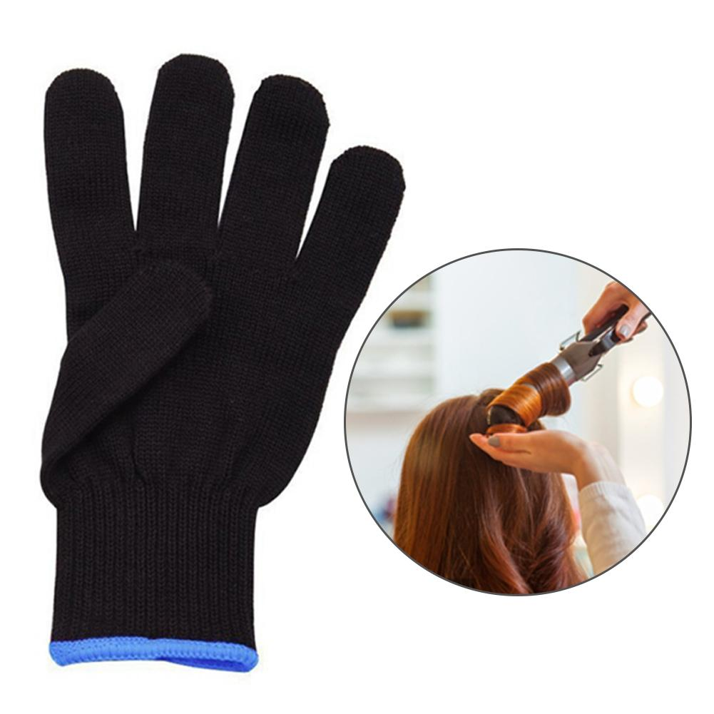 1pc Heat Resistant Glove Hair Styling Blocking Curling Styling Hand Skin Care Protector Gloves Tool One Size Fits All