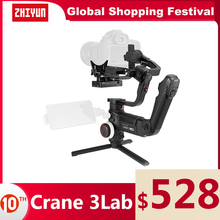 ZHIYUN Official Crane 3 LAB 3 Axis Handheld Gimbal Wireless 1080P FHD Image Transmission Camera Stabilizer for DSLR VS Crane 3S