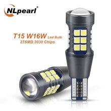 Nlpearl 2x сигнальная лампа w16w светодиодный t15 921 912 лампы