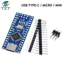 Nano Mini Usb Met De Bootloader Compatibel Voor Arduino Nano 3.0 Controller CH340 Usb Driver 16Mhz Nano V3.0 ATMEGA328P