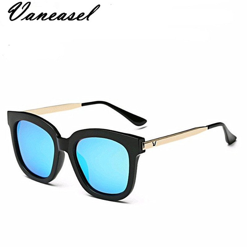 VANEASEL New Sunglasses Face-Modified-Oversized-Sunglasses Tide Colorful Women Brand