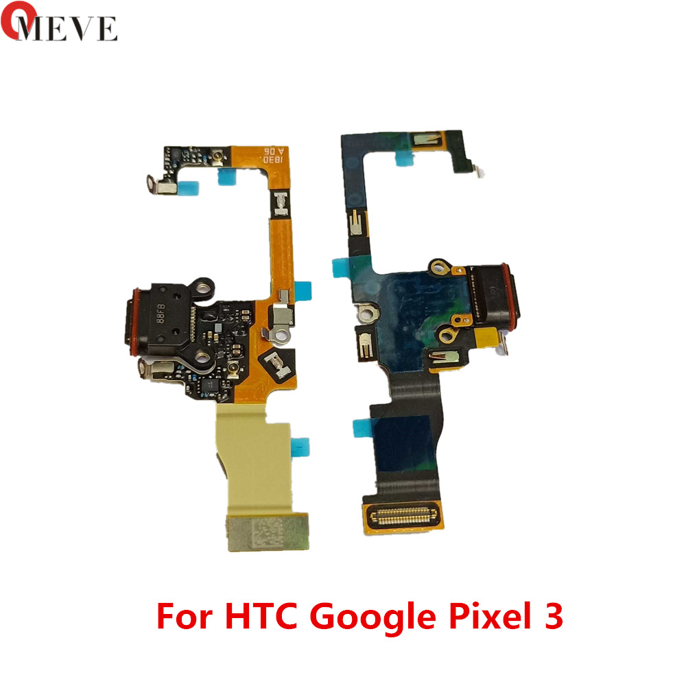 100% New Original For Google Pixel 3 Pixel3 USB Dock Connector Charger Charging Port Flex Cable Repair Part