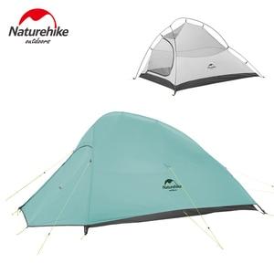 Image 4 - Naturehike自立クラウドアップ2シリーズテント20Dナイロン超軽量プロシリーズ2男屋外ハイキングテント送料無料でマット