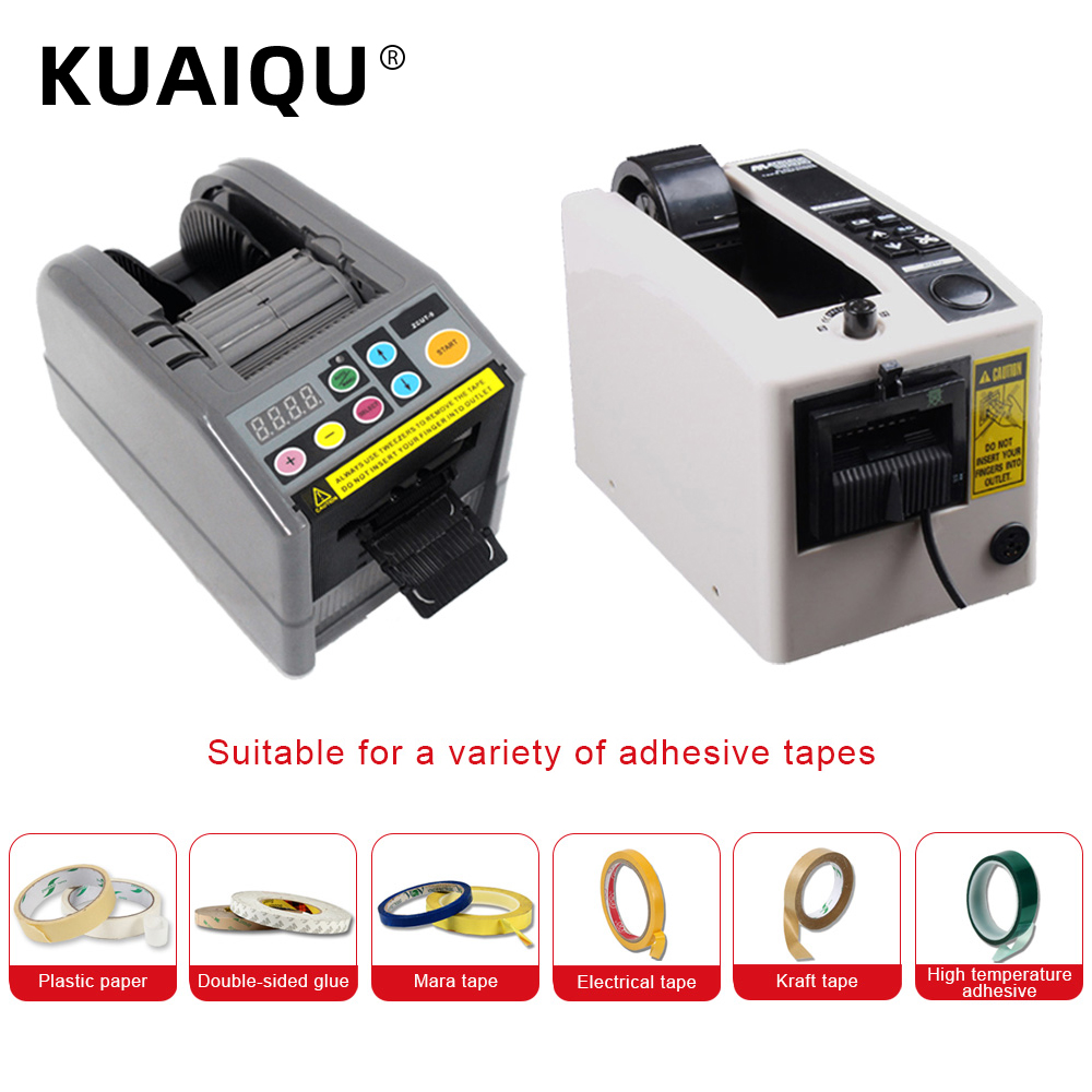 110V 220V Newest Automatic Tape Cutting Machines ZCUT-9 Packaging Tape Dispenser Office Supplies Equipment Cutting Tools Packing