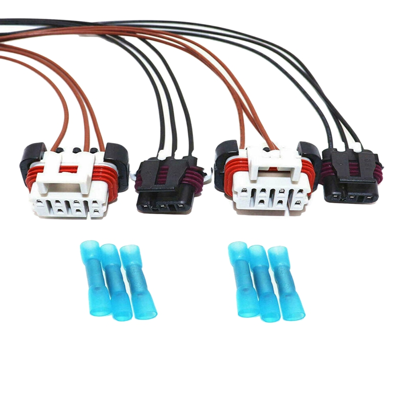 Fit For 2000-14 Freightliner Columbia Truck 2X Headlight/&Turn Signal Harness