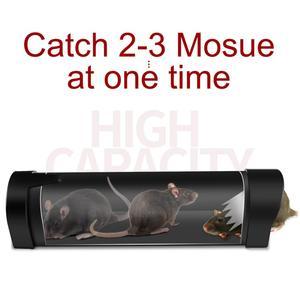 Image 2 - 2020 New Mousetrap Live Mouse Trap No Kill Plastic Reusable Small Mousetrap Rat Trap Rodent Catcher Pest Control