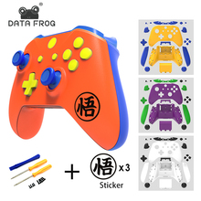 цена на For Microsoft Xbox One Slim Wireless Controller Custom Matte Shell Replacement Full Case With Buttons Kit For Xbox one S Slim