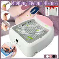 30W Nail Dust Suction Dust Collector Fan Vacuum Cleaner Manicure Machine Tools Strong Power Nail Fan Art Manicure Salon Tools