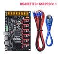 BIGTREETECH SKR PRO V1.1 32 бит wifi плата управления 3d принтер части Vs Ramps MKS Gen V1.4 с TMC2208 A4988 TMC2130 драйвер