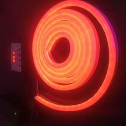 Hode силикагель Гибкая неоновая Световая трубка 12V-RGB красочная 60 лампа/M 10X18 Voice 2,5 M набор