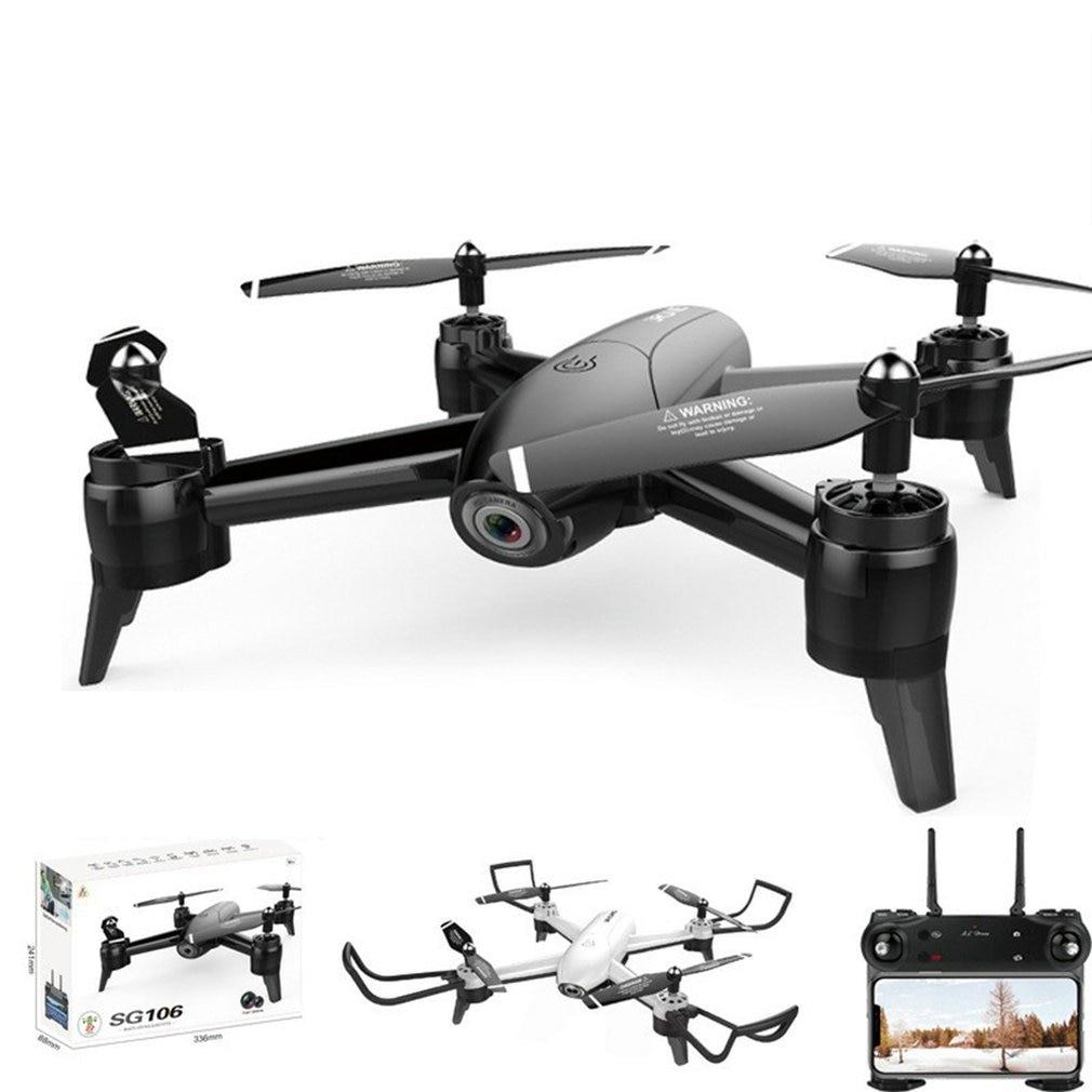 SG106 WiFi FPV RC Drone Camera Optical Flow 720P HD Dual Camera Aerial Video RC Quadcopter Aircraft Quadrocopter Toys Kid