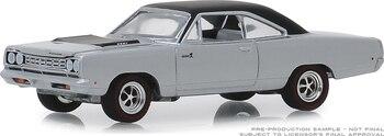 GreenLight 164 1968 Plymouth Road Runner HEMI aleación modelo coche juguetes de Metal para niños pequeños diecast regalo