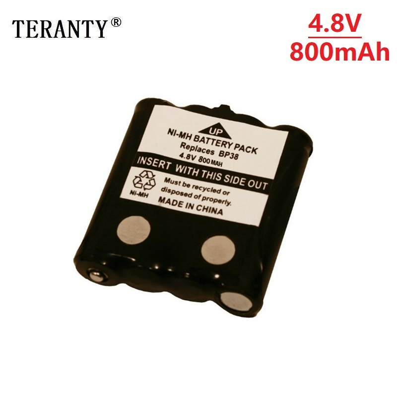 4.8V 800MAH NI-MH Rechargeable Battery Pack For Uniden BP-38 BP-40 BT-1013 BT-537 GMR FRS 2Way Radio Battery Pack