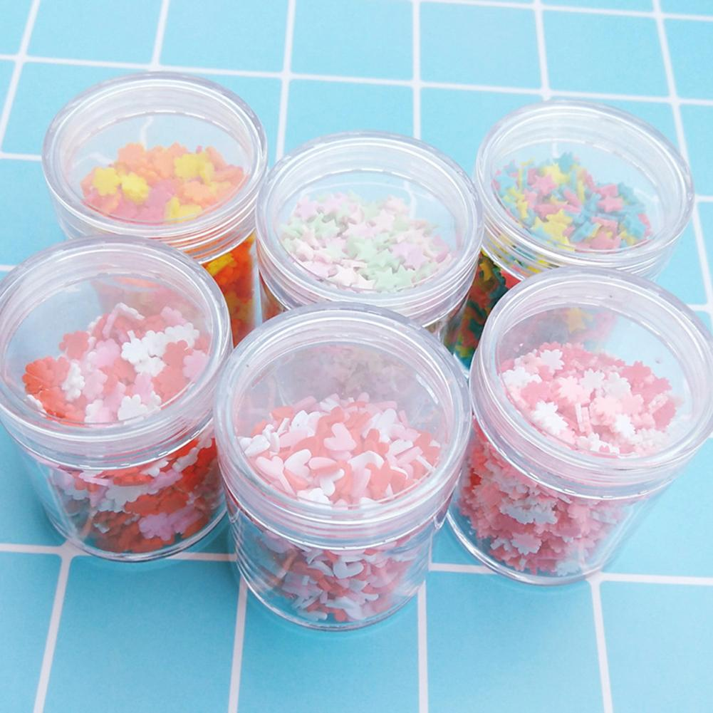Red And White Love Cherry Blossom Slime Supplies Filler Decoration Accessories Clay DIY Material Slime Kids Adult Toy