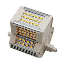 1 шт. R7S 78 мм 15 Вт светодиодсветодиодный лампочка-кукуруза стандарта SMD2835, горизонтальный разъем для замены 150 Вт, искусственная лампочка, бес...