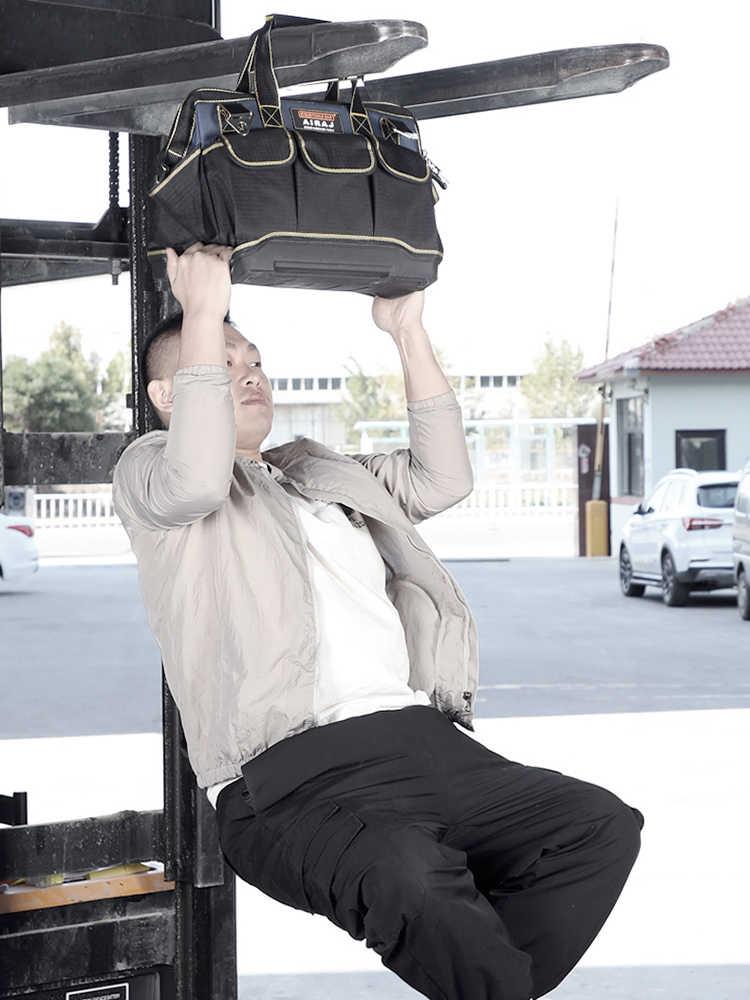 AIRAJ обновления сумки для инструментов 13/17/19/21 дюймов Большой Ёмкость Оксфорд Водонепроницаемый износостойкая Электрика Сумка для хранения