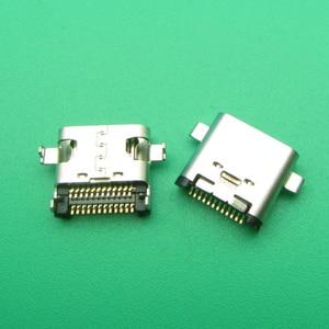 Image 2 - 5 adet 50 adet Usb tip C şarj bağlantı noktası jakı Dock soket fişi Lenovo ZUK Z1 Z2 Z2PRO p1C72 P1C58 şarj konnektörü onarım parçaları