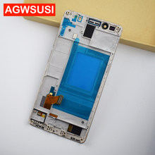 Für Huawei Honor 7 Lcd-bildschirm PLK-TL01H PLK-L01 PLK-UL00 PLK-AL10 LCD Touch Screen Digitizer LCD Display Bildschirm Montage Rahmen(China)
