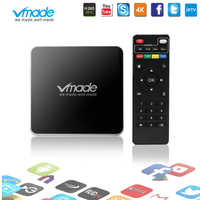 Vmade Smart Mini TV BoxAndroid 7,1 OS Amlogic S905W 2GB 8GB Media Player 4K apoyo YouTube, Netflix Google H.265 Goo sobre las