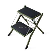Foldable high stool home kitchen footstool Japanese style