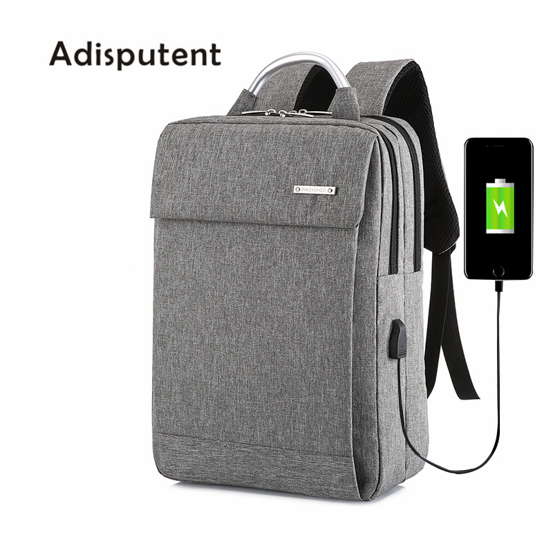 Usb Backpack School-Bag Student-Bag Business Anti-Theft Large-Capacity Women Litting