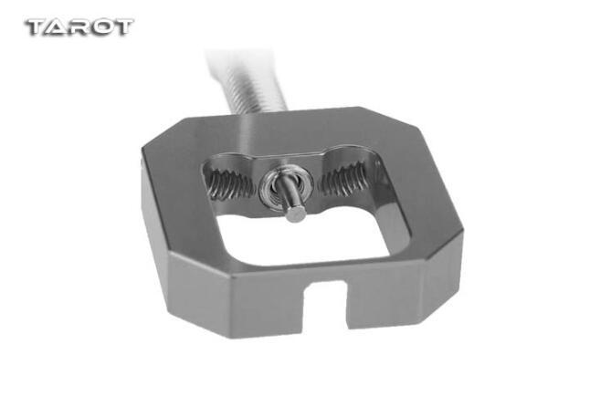 Lega di Alluminio Fltaheroo Set di Strumenti di Rimozione Estrattore Del Pignone Del Motore per Le Parti Del Pignone Del Motore Elicottero di Rc