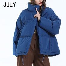 Autumn Winter Jacket Women Parkas Mujer 2019 Fashion Coat Loose Stand Collar Jacket Women Parka Warm Casual Plus Size Overcoat цены онлайн