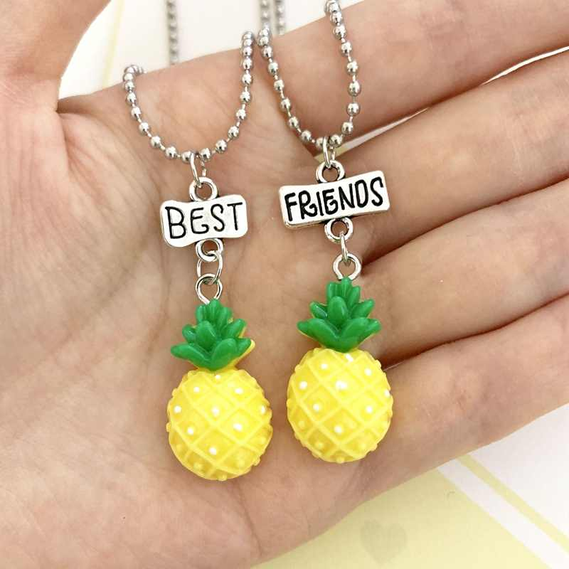 custom necklace Pineapple necklace gift for her gift under 30 custom jewelry hand stamped food necklace