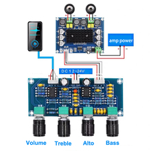 Dual NE5532 Repalceable Tone Voorversterker Board Audio Treble Bass Aanpassing Equalizer Pre Versterker Tone Control Voorversterker