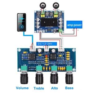 Image 1 - Dual NE5532 Repalceable tone Preamp Board Audio treble bass adjustment equalizer Pre amplifier Tone Control Preamplifier