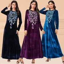 Pakistan Muslim Evening Hijab Dresses Dubai Abaya Turkish Caftan Moroccan Kaftan Bangladesh Islamic Clothing Robe Djellaba Femme