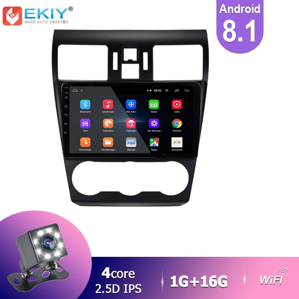 EKIY IPS Android 8,1 автомобильное радио для Subaru Forester XV WRX 2012 2018 стерео Мультимедиа Видео плеер GPS Навигация BT HU Wifi USB|Мультимедиаплеер для авто|   | АлиЭкспресс