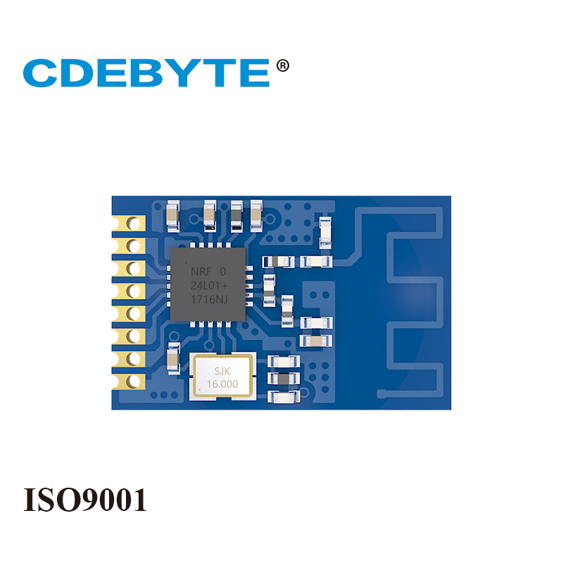Ebyte E01-ML01S NRF24L01P 0dBm 2.4GHz SPI NRF24L01+ Stamp Hole PCB Antenna Small Size IoT Wireless Transceiver Module
