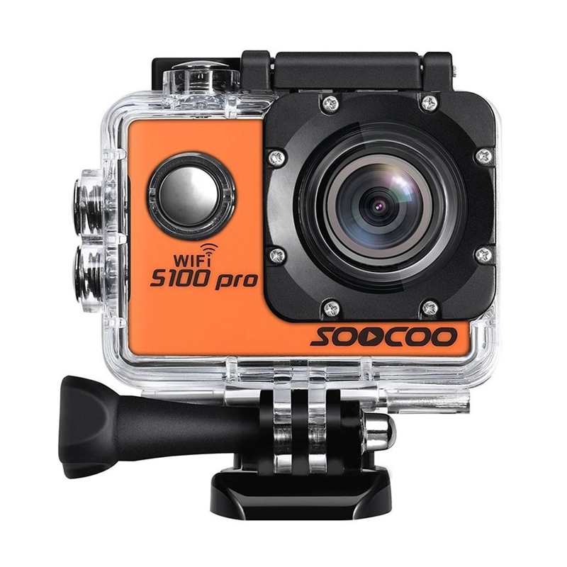 SOOCOO S100 Pro 4K WiFi Action Camera with Waterproof Housing Case, 2.0 inch Screen, 170 Degrees Wide Angle image