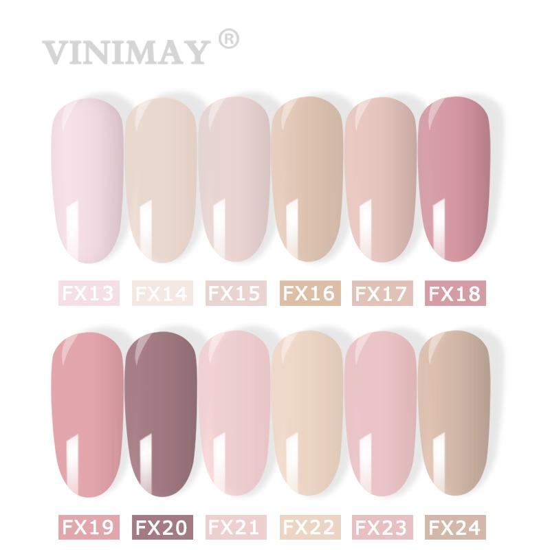 Image 2 - VINIMAY French Nail Art Gel Nail Polish UV Soak Off Gelpolish Gel Polish Color Primer Manicure Nails Gel Lacque Salon 15ml-in Nail Gel from Beauty & Health