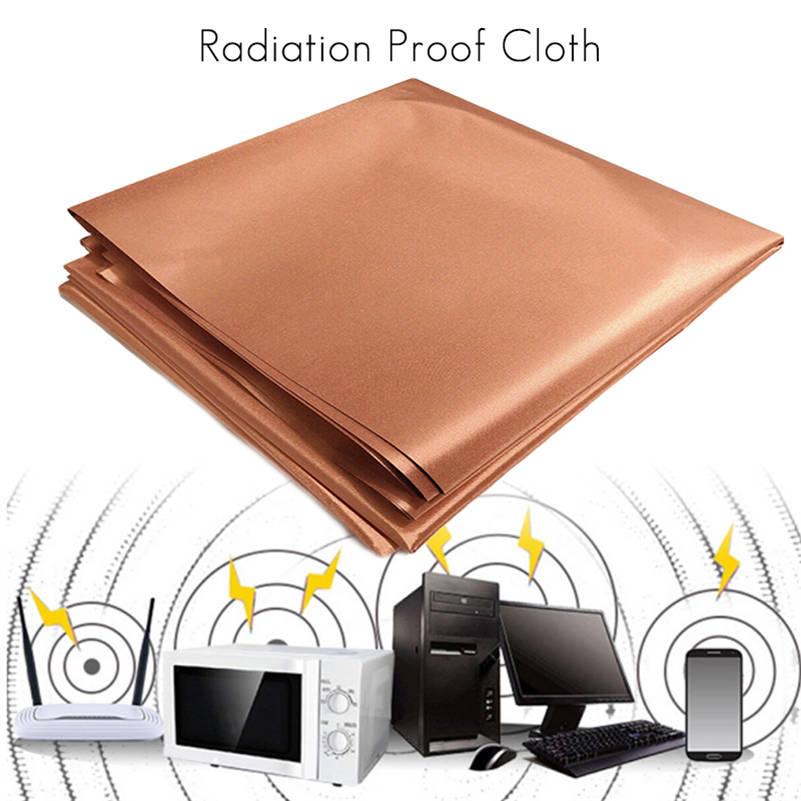 Ткань из чистой меди, 1 м, блокирующая Радиочастотное излучение, Singal Wifi EMI EMP RF